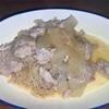 豚肉と玉ねぎの味噌炒め ヘルシオホットクックで自炊(94)