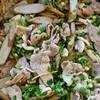 豚肉とごぼうエリンギの柚子胡椒炒め