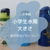 【小学生水筒】低学年水筒の大きさはどれくらい?水筒選び4つのポイント