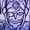【お絵描き】【COJ】ジャアーク、怒り顔か狂気顔か
