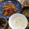 豚キムチと切干大根煮