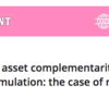 【D×B:No.7】Know‐how and asset complementarity and dynamic capability accumulation: the case of r&d(1997)