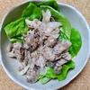 豚肉とマッシュルームのブルーチーズソース