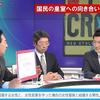 2018年2月25日 TOKYO MX「激論!サンデーCROSS 田中康夫 自称「保守」のエセ「天皇機関説」にご注意!」