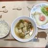 鶏団子鍋と目玉焼き