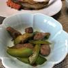 副菜 砂肝ときゅうりの炒め物
