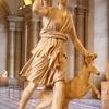 狩猟と貞淑を司る月の女神アルテミス(ディアナ)