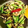 ポリヤルという南インドの野菜炒め