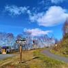 比布町 ぴっぷいいながめ台からの気持ちの良い眺めと近くで見た鮮やかな夕焼け空【11月7日撮影】