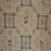 着物生地(179)井桁模様織り出し十日町紬