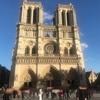 パリ・ノートルダム大聖堂の火災の話題で持ちきり、か。
