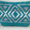 フェリシモのかぎ針編みバッグ、完成ー♪