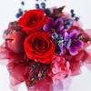 一輪のお花を使ったプリザーブドフラワーの値段は?
