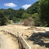 ため池が土砂災害を防いだ