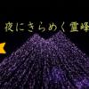 【デートに!】つくば駅から車で約20分、お隣の土浦ではなんとキラキラ輝くあの霊峰が、、!【水郷桜イルミネーション】