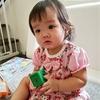 ゆっち(妹)0歳11か月目前で突発性発疹になる