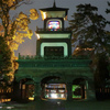 尾山神社金沢のスタンドグラスとライトアップ・夜桜の様子!御朱印・厄除け駅弁の詳細