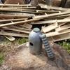 竹の節取り冶具 全ての節を Fixture to remove node of a bamboo