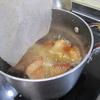 きょうの夕食は赤魚の煮つけです