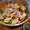 今日のもう一品〜豚バラ肉と野菜の蒸し焼き(トリュフ塩添え)