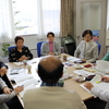 岩渕友参議院議員と県議団の懇談、再エネ調査に同行