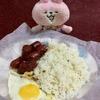 セブの自宅でフィリピンの典型的な朝食を夕食に食べました(;^ω^)