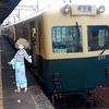 イベント最終日、ナローゲージの素朴な三岐鉄道に乗ろう旅。(土曜日、晴れ一時雨)