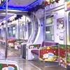 クリスマス列車に遭遇♡