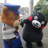 くまモン 交通安全活動