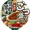 カップ麺88杯目 マルちゃん『ごつ盛り 新潟風背脂醤油ラーメン』