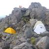 テント沼。冬に3,4人で使う大きめテントが欲しい。~コンデジ時代の槍ヶ岳の写真を添えて~