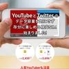 YouTubeとTwitterが使い放題、見放題の格安SIM「DTI 見放題 SIM」が始まりました。