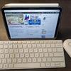 iPad mini 6のお供に最高!マイクロソフトデザイナー コンパクト キーボード&ロジクール Pebble M350マウス