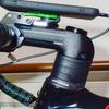Bianchi Infinito CV Disk:ステムをFSA OS99(80mm)に交換