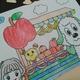 【3歳7ヵ月成長・室内遊び模様】 塗り絵・レゴデュプロ・絵本・英語・2つ結びが大好き