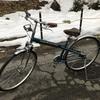 豆まきで当たった自転車、姪っ子へプレゼント