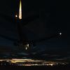 千里川土手からの飛行機ランディング動画集@13機をまとめたよ