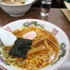 ●大宮駅東口「多万里食堂」のミニラーメン&ミニ中華丼セット
