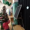 児童館のクリスマス会参加と、書類送付