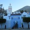 モロッコ1人旅行記 青の街 シェフシャウエン  メディナの外は整備された街並み 地図と写真で様子を紹介します^^