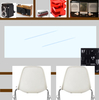 <妄想Web内覧会>ミッドセンチュリーカラーの全方位好きなモノに囲まれた書斎(という名のマンガ部屋)