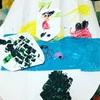 取り組み と幼児教室 (絵画と通常) 96days