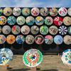 カラフルきのこ大集合 和傘