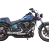 パーツ:Two Brothers Racing「2018 - 2019 HD Softail M8 2-1 Shorty Turnout Exhaust」