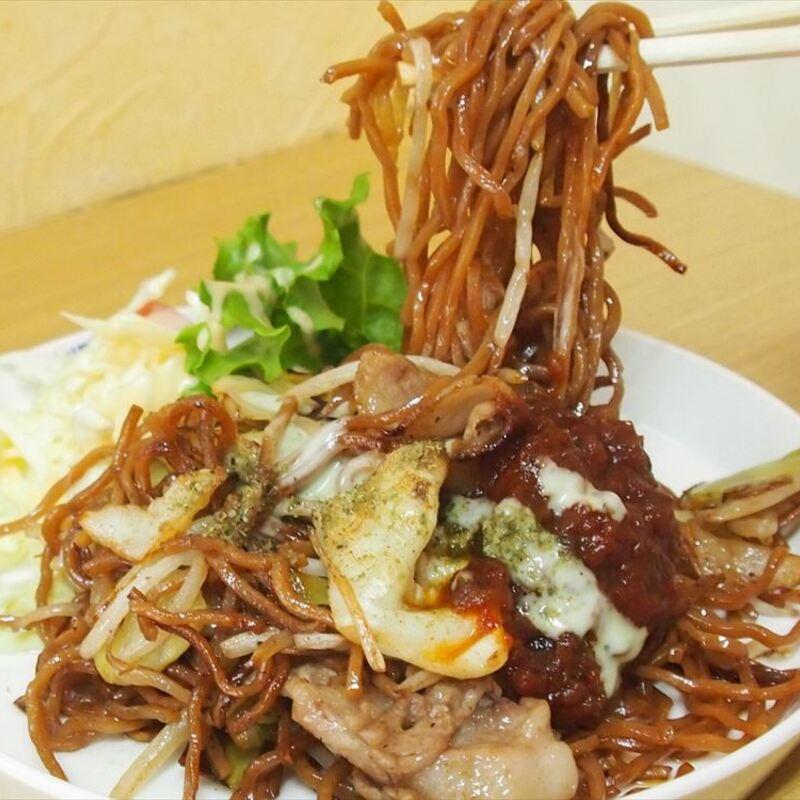 わざわざ食べに行きたい京都・福知山のB級グルメ「ゴム焼きそば」って?