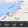 昼ランといっても15時から走ったのだが、しかも6キロしか走っていないのだが汗ダクダク