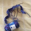 手編みラグ