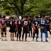 初めてNFL FLAG南関東大会に参加してみました(スーパーフリークス)