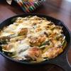 【スキレットレシピ】お好み野菜でカレーソース焼き(子どもと一緒に作れます)