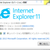 Internet Explorerで印刷すると白紙で出力される。